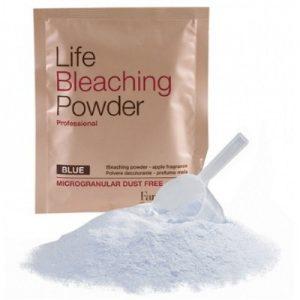 Farmavita-Life bleaching powder blue 30g